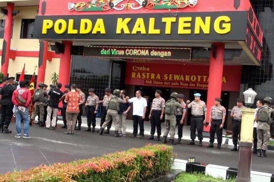 1 SSK Brimob Polda Kalteng di BKO ke Papua