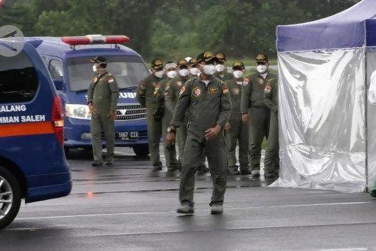 Datang dari China, 18 prajurit TNI AU dikarantina 14 hari