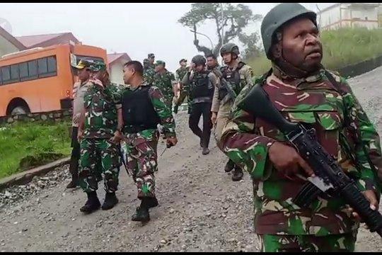 KKSB serang Pos Koramil Jila Papua, satu anggota TNI tewas