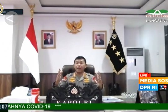 Antisipasi darurat sipil, Kapolri siagakan 4 batalyon dan 98 ribu aparat