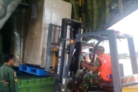 Dua sortie material faskes penyakit menular tiba di Batam