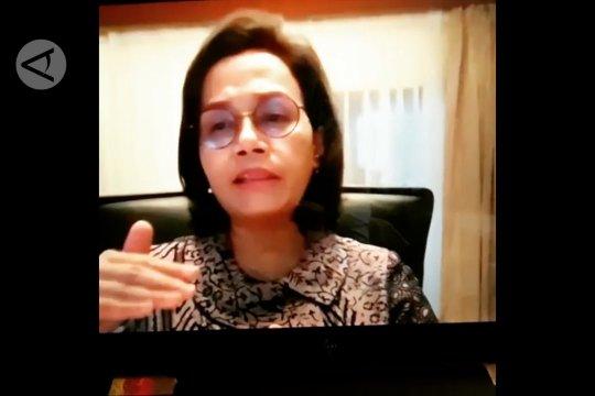 Sri Mulyani jelaskan program safety net untuk atasi tekanan ekonomi