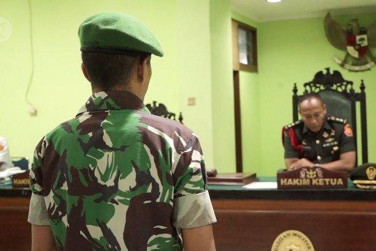 Jual senjata ke KKSB, anggota TNI divonis seumur hidup