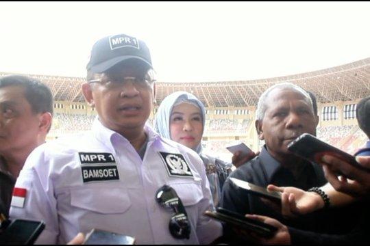 Ketua MPR sebut Stadion Papua Bangkit kebanggaan Indonesia