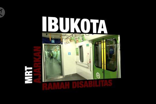 MRT ajarkan ibu kota ramah disabilitas