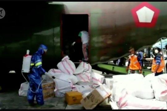 2,3 ton bantuan alat kesehatan tiba di Papua