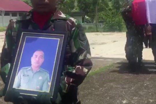 Anggota TNI korban penembakan KKB dimakamkan di TMP Baubau