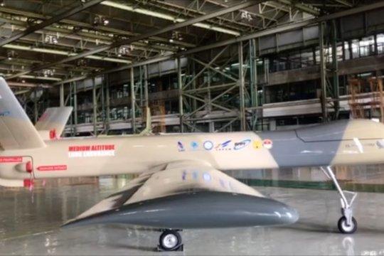 Drone MALE Elang Hitam PT DI bakal terbang perdana Oktober 2020