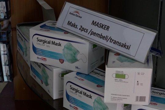 Erick Thohir pastikan stok masker tersedia di seluruh apotek Kimia Farma