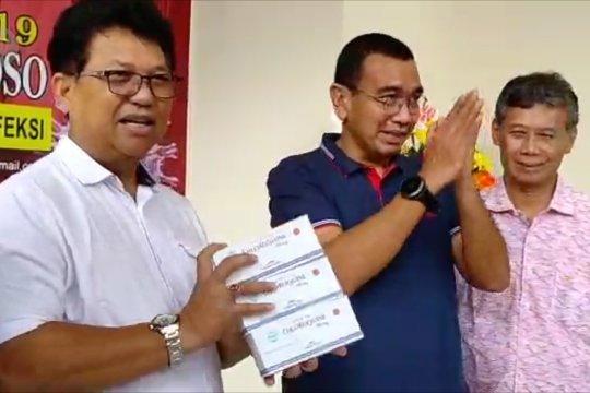 Kementerian BUMN serahkan Chloroquine ke RSPI Sulianto Saroso