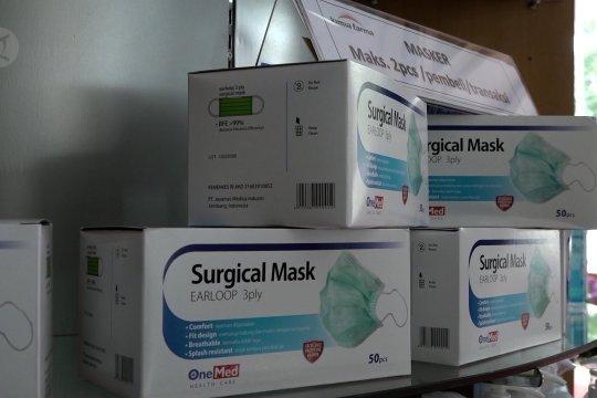 Pemerintah siapkan 12 juta masker bedah mulai besok