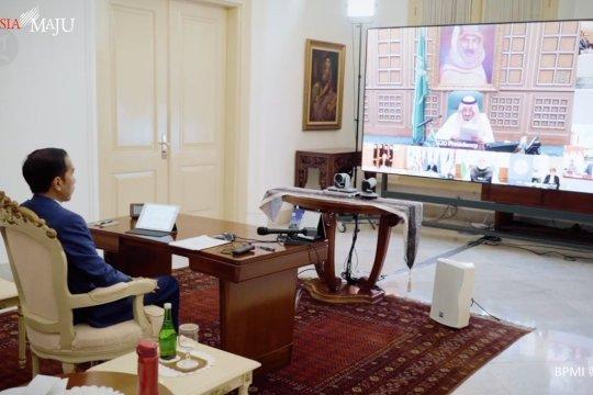 Presiden Jokowi ikuti KTT G20 virtual dari Istana Bogor