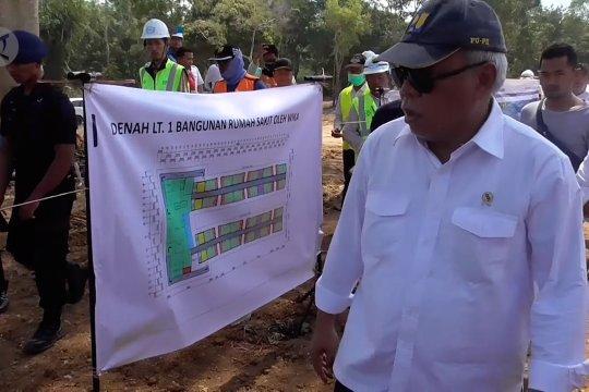 Rp400 miliar untuk bangun fasilitas observasi dan isolasi penyakit menular