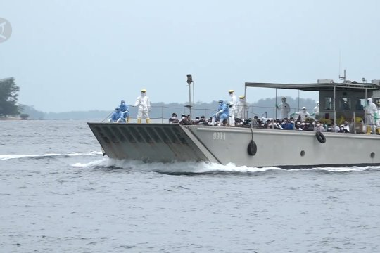 Polres Kepulauan Seribu sebut warga tak lagi menolak pulau observasi