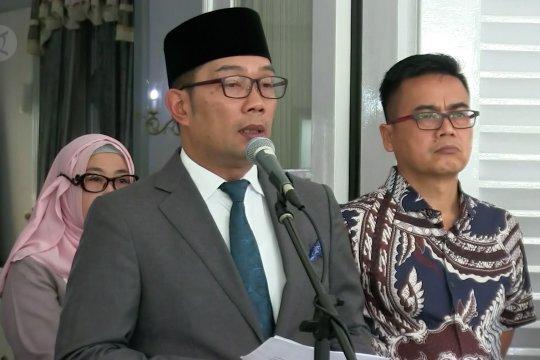 Ridwan Kamil minta siswa belajar di rumah selama dua pekan
