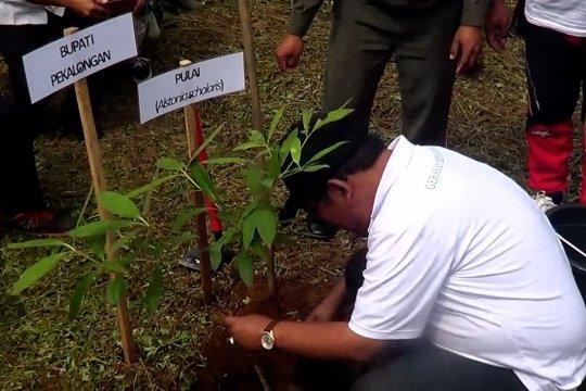 Aksi reboisasi selamatkan 30 ribu hektar lahan kritis di Pekalongan