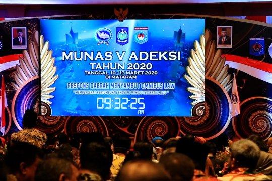 Munas Adeksi, tidak ada salaman antara peserta dengan Wapres