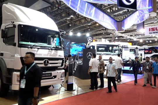 Saat kendaraan komersial adu pamer di GIICOMVEC 2020