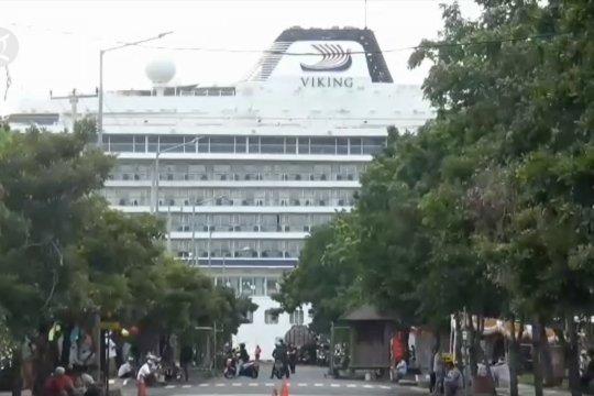 375 penumpang Viking Sun pilih tinggalkan Bali via jalur udara