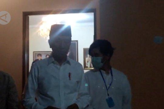 Keluarga Jokowi minta masyarakat cukup mendoakan dari rumah