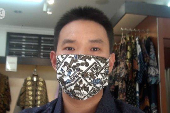 Masker batik menjadi alternatif ketika masker medis langka