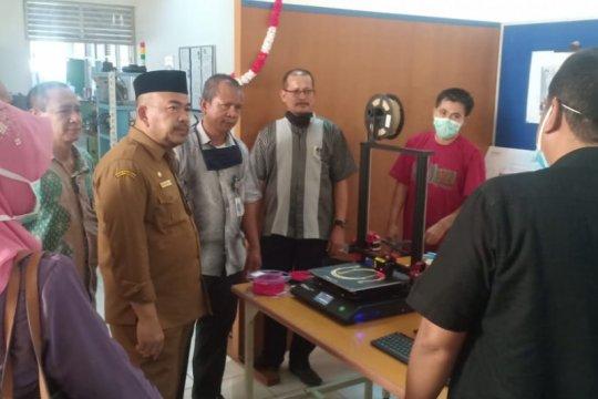 Pelajar SMKN 2 Banda Aceh Ciptakan pelindung wajah