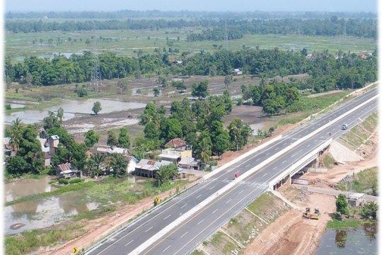 Tol Kayu Agung-Palembang mulai beroperasi gratis hari ini