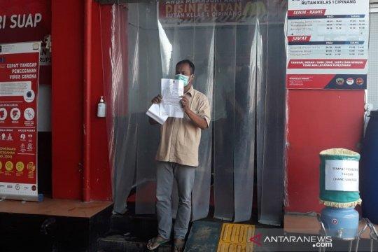 Cegah COVID-19, Rutan Cipinang pulangkan 343 warga binaan
