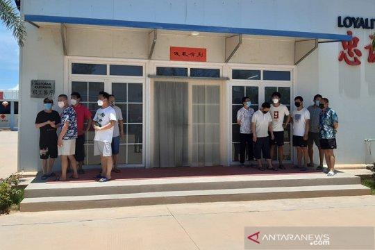 Swab test sampai 2 kali, 300 TKA China ke Bintan dijamin bebas Corona
