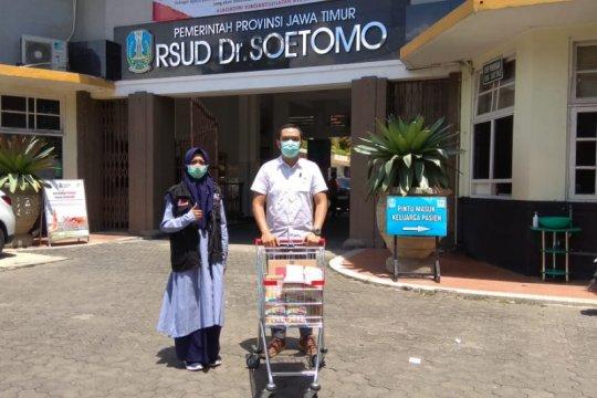 Bantuan pangan disalurkan ACT Jatim untuk tenaga medis RSUD dr Soetomo