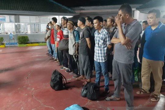 Hukum kemarin, 13.430 napi bebas hingga 300 siswa Setukpa ODP