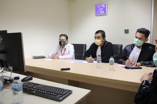 Bekas anggota DPR dari fraksi PAN Sukiman dituntut 8 tahun penjara