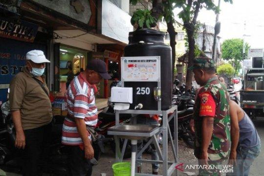 Pemkot Denpasar sinergi bangun 34 wastafel antisipasi COVID-19