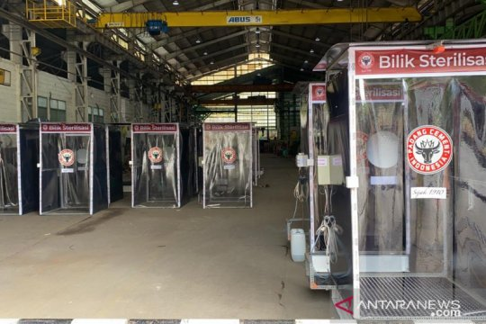 Semen Padang bantu  lima bilik sterilisasi untuk RSUP  M Djamil