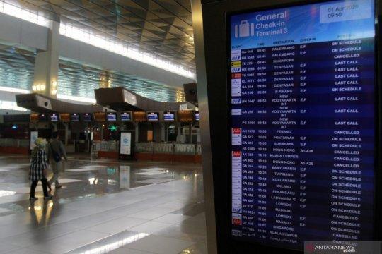 Bandara Soetta tutup penerbangan komersial sampai 1 Juni