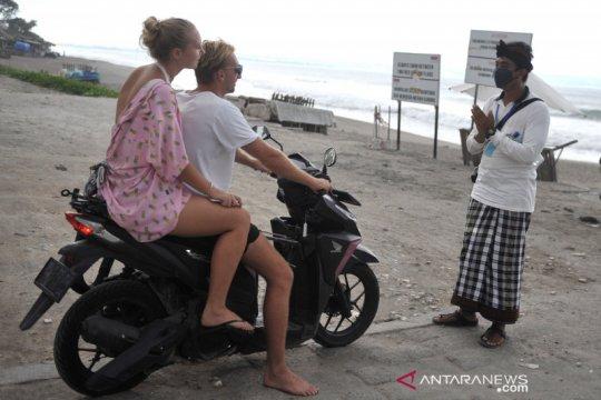 Penutupan objek wisata di Bali diperpanjang