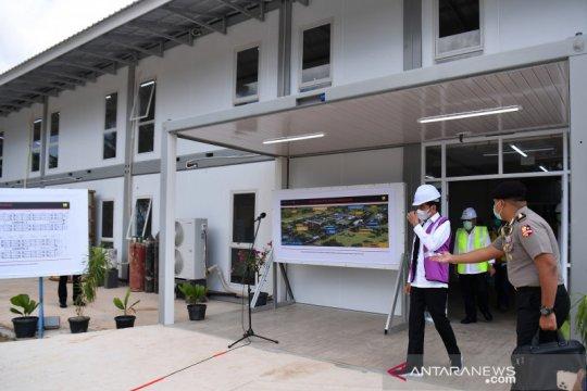 Rumah Sakit Darurat Pulau Galang sudah 96 persen siap