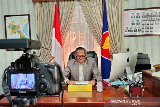 KBRI Vientiane jamin persediaan logistik WNI cukup selama karantina