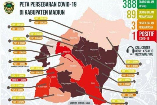 Satu warga Kabupaten Madiun-Jatim terkonfirmasi positif COVID-19