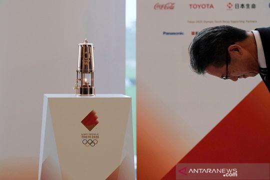 Upacara penyimpanan Api Olimpiade Tokyo 2020