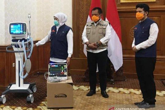 Pemprov Jatim terima bantuan 16 ventilator untuk perlengkapan medis