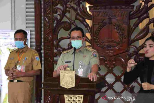 Anies minta Menkes segera tetapkan status PSBB DKI Jakarta