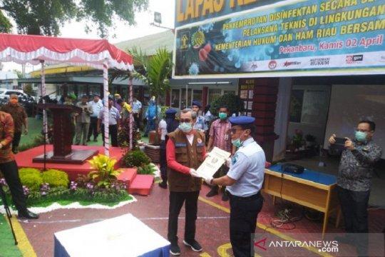 Cegah penularan Corona, 2.000 Napi di Riau hirup udara bebas