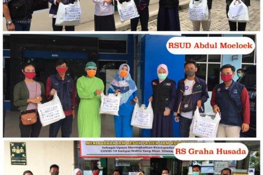 ACT Lampung salurkan APD ke tiga rumah sakit di Lampung