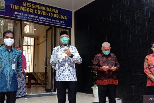 Aceh sediakan tiga gedung untuk istirahat tenaga medis