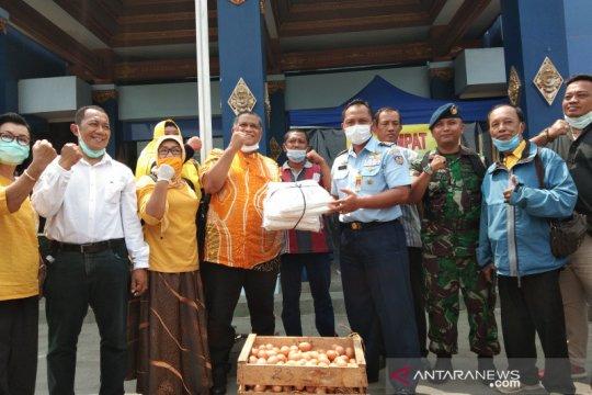 RSPAU Hardjolukito Yogyakarta terima donasi APD penanganan COVID-19