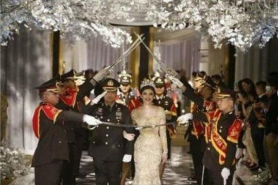 Cerita pernikahan mantan Kapolsek Kembangan di mata tamu