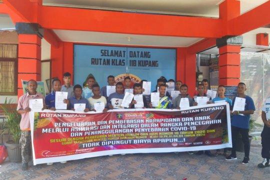 Rutan Kupang bebaskan 21 narapidana cegah COVID-19