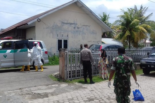 Wanita dengan gejala COVID-19 diamankan di Aceh Besar