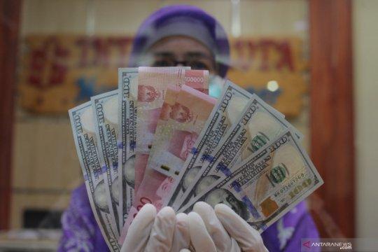 Rupiah lanjut merosot, seiring pelemahan mata uang di Asia